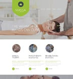 Beauty Website  Template 54738