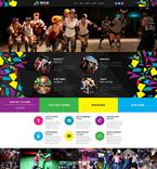Sport Website  Template 54739