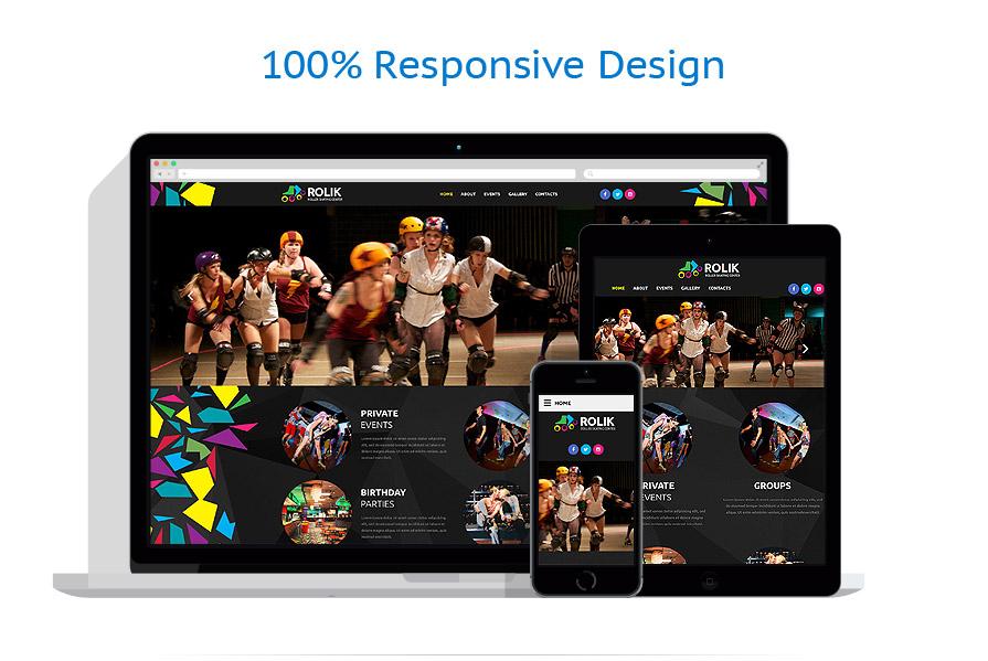 Modèles HTML5 Sport #54739