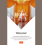Hotels Newsletter  Template 54740
