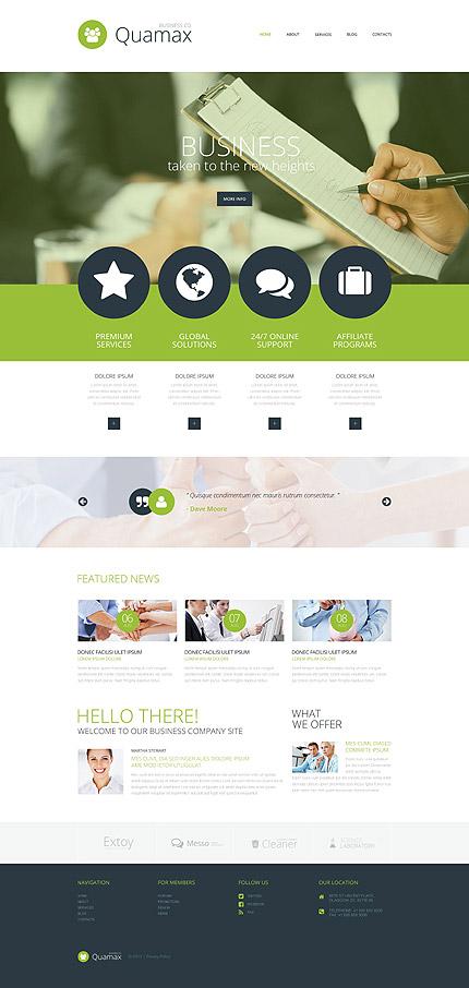 Joomla Theme/Template 54741 Main Page Screenshot