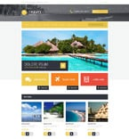Travel OpenCart  Template 54745