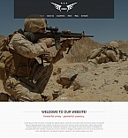 Military Moto CMS HTML  Template 54748