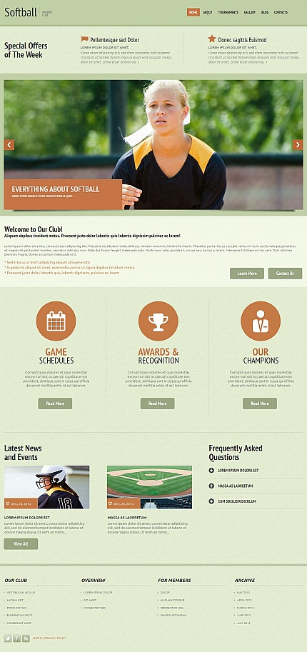 ADOBE Photoshop Template 54753 Home Page Screenshot