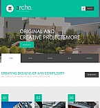 Architecture Moto CMS HTML  Template 54754