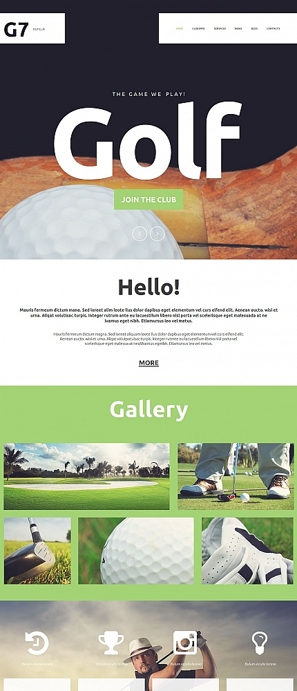 ADOBE Photoshop Template 54759 Home Page Screenshot
