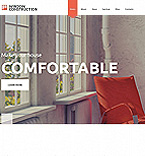 Furniture Moto CMS HTML  Template 54760