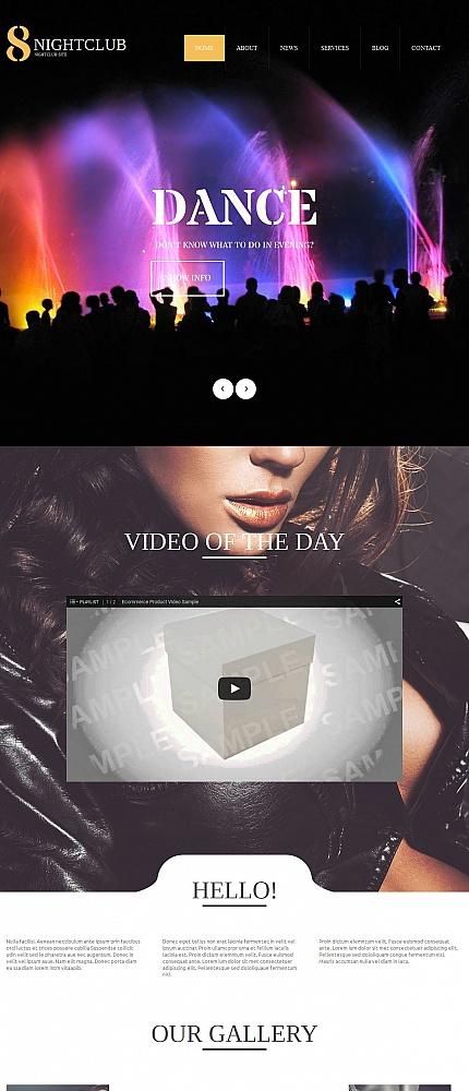 ADOBE Photoshop Template 54761 Home Page Screenshot