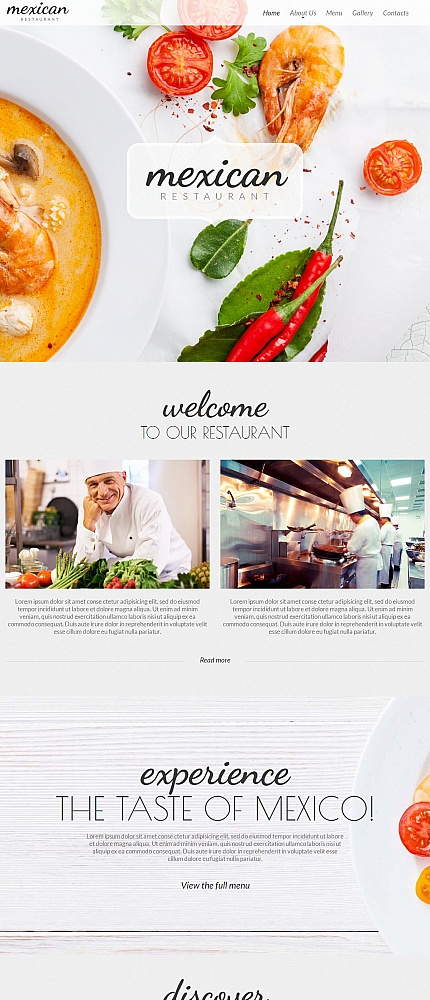 ADOBE Photoshop Template 54771 Home Page Screenshot