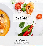 Cafe & Restaurant Moto CMS HTML  Template 54771