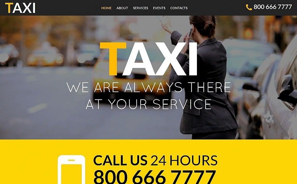 Prémium Taxi társaságok Moto CMS HTML sablon New Screenshots BIG