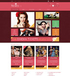 Entertainment osCommerce  Template 54779