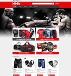 Sport VirtueMart  Template 54780