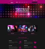Entertainment WordPress Template 54790