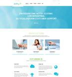 Web Hosting WordPress Template 54791