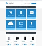 Web Hosting OpenCart  Template 54797