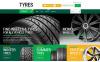 Адаптивний Shopify шаблон на тему колеса та шини New Screenshots BIG