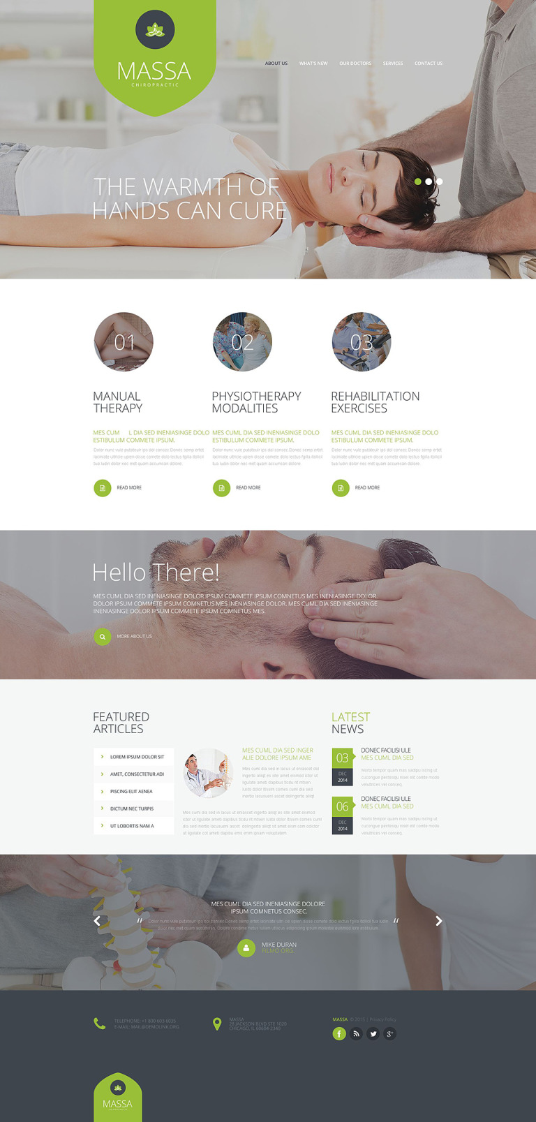 Beauty Salon Website Template New Screenshots BIG