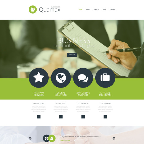 Quamax - Joomla! Template based on Bootstrap