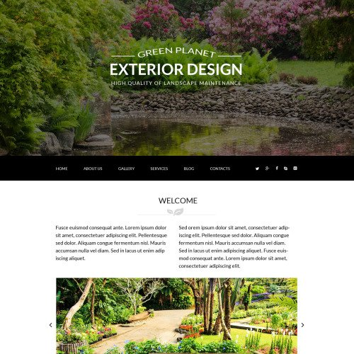 Green Planet - Joomla! Template based on Bootstrap