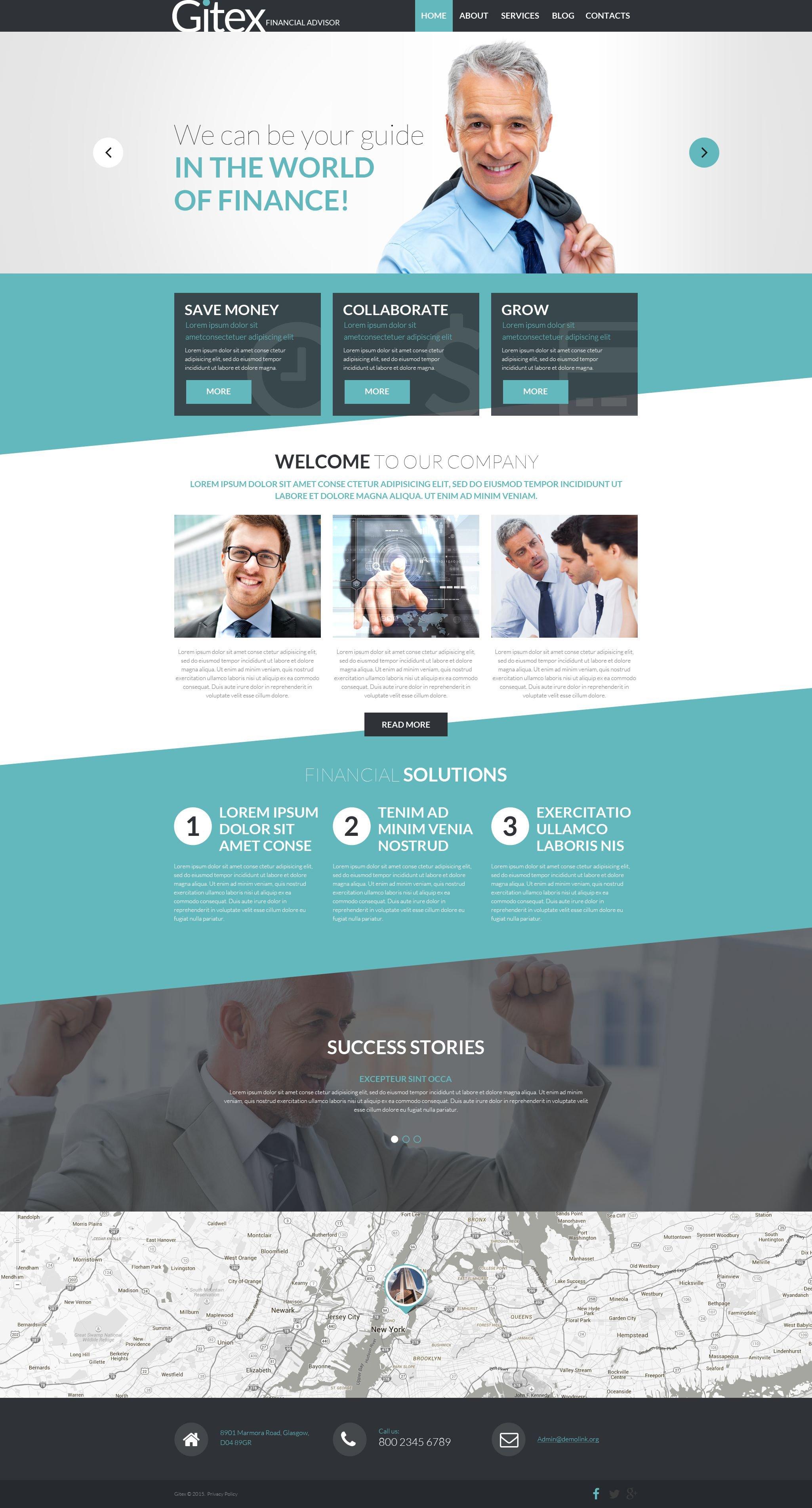 Gitex WordPress Theme - screenshot