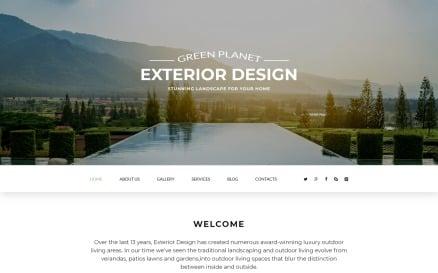Green Planet - Exterior Design Responsive Modern Joomla Template