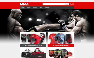 Martial Arts VirtueMart Template