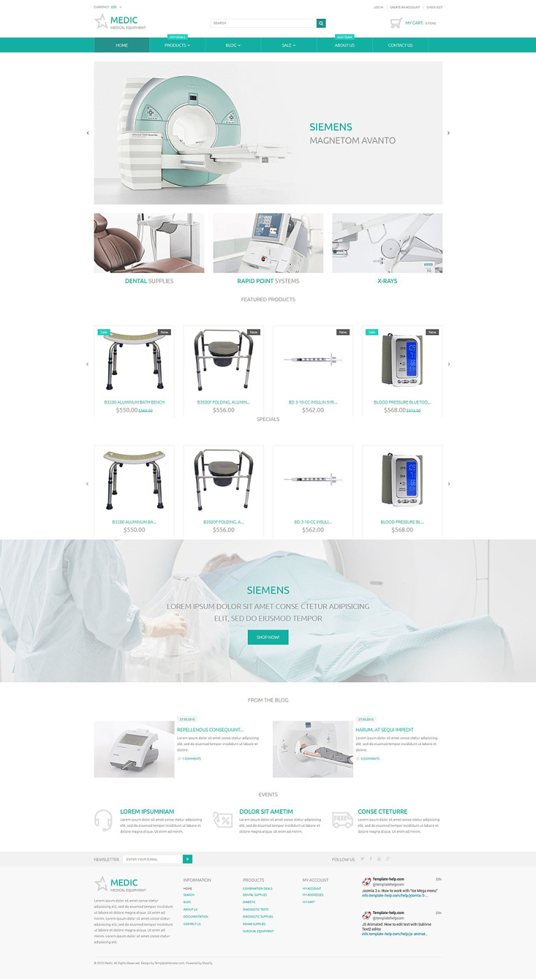 Medical Equipment Responsive Shopify Theme New Screenshots BIG