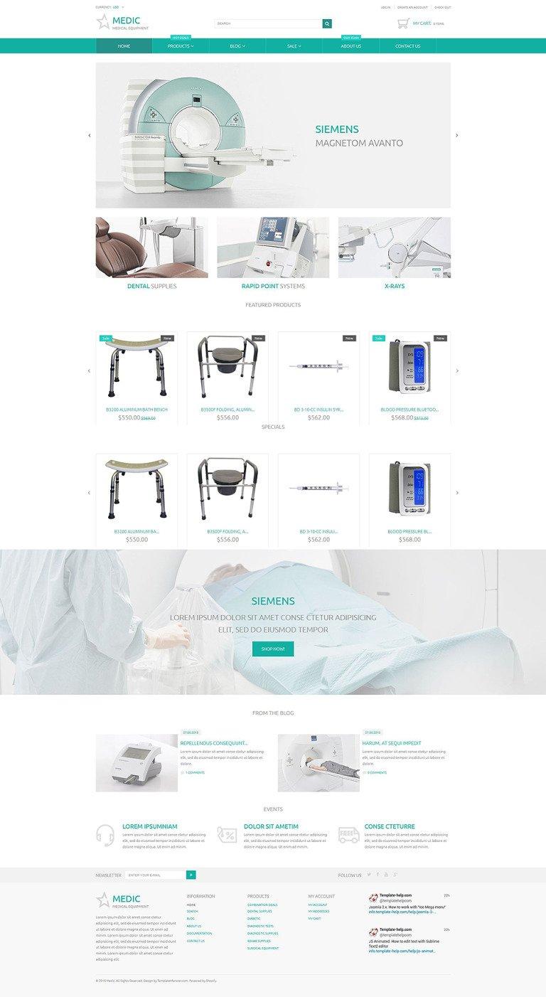 Medical Equipment Responsive Shopify Theme New Screenshots BIG