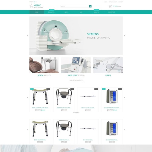 Medic - Shopify Template based on Bootstrap