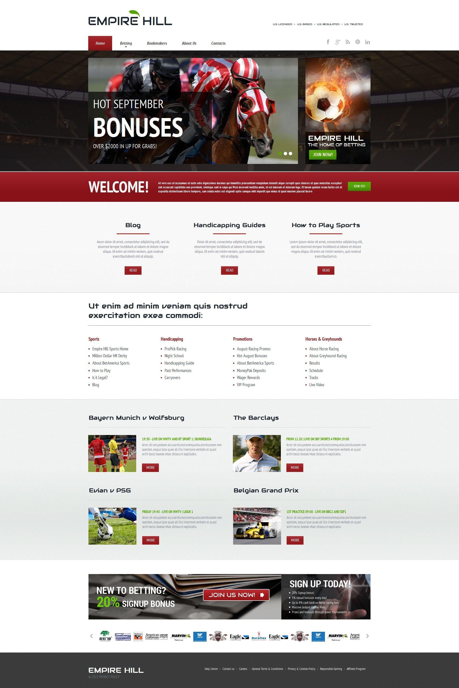Шаблоны сайтов игры, азартные, компьютер система мартингейла онлайн казино