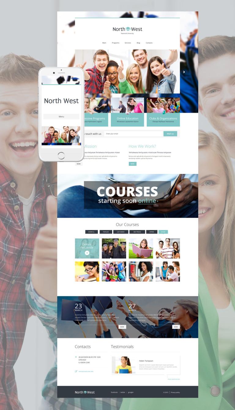 North West WordPress Theme New Screenshots BIG