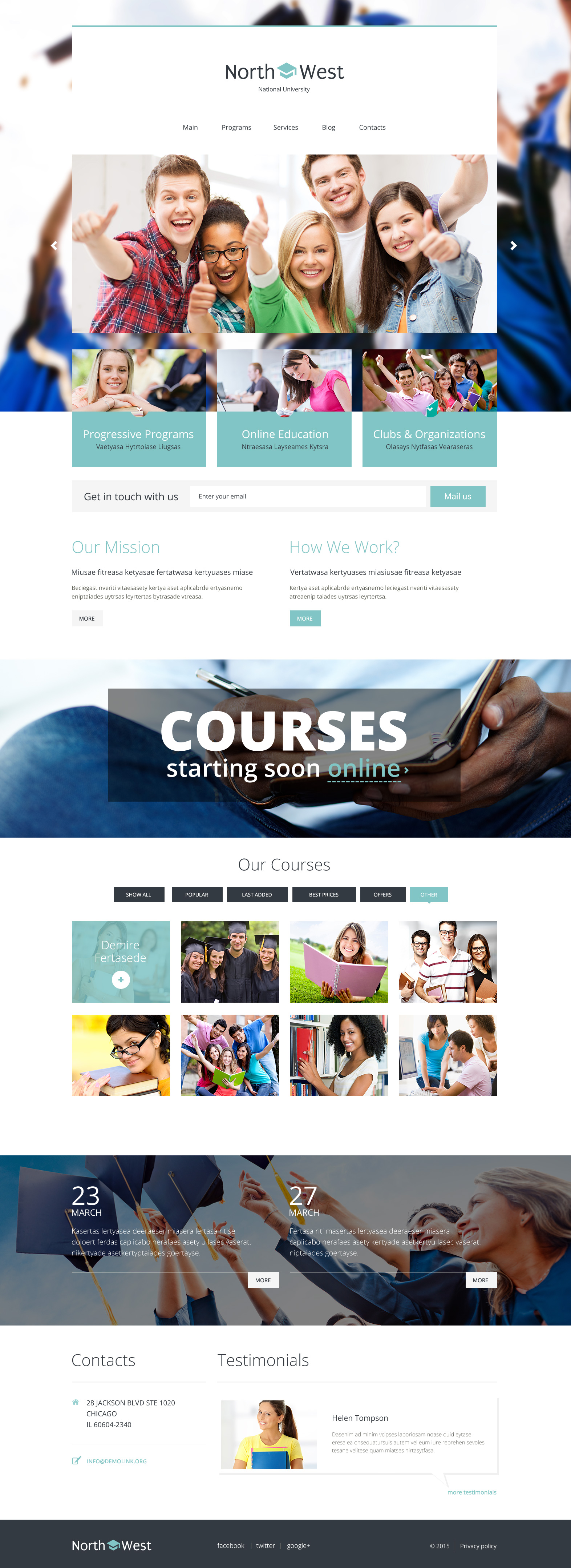North West WordPress Theme