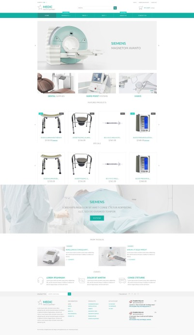 Medical Equipment Responsive Shopify Thema