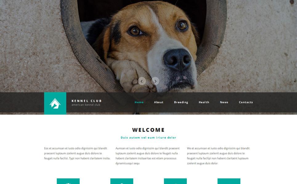 Responsive Website template over Honden New Screenshots BIG
