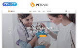 """Responzivní Šablona webových stránek """"Pet Care - Vet Pet Care Clean HTML"""""""
