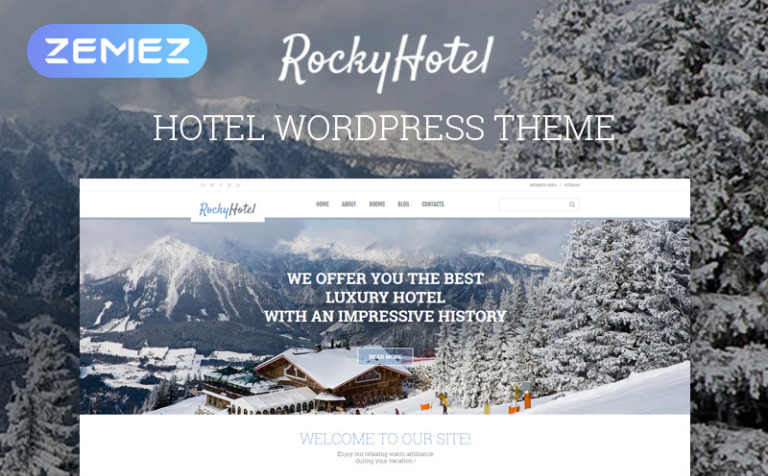 Rocky Hotel WordPress Theme