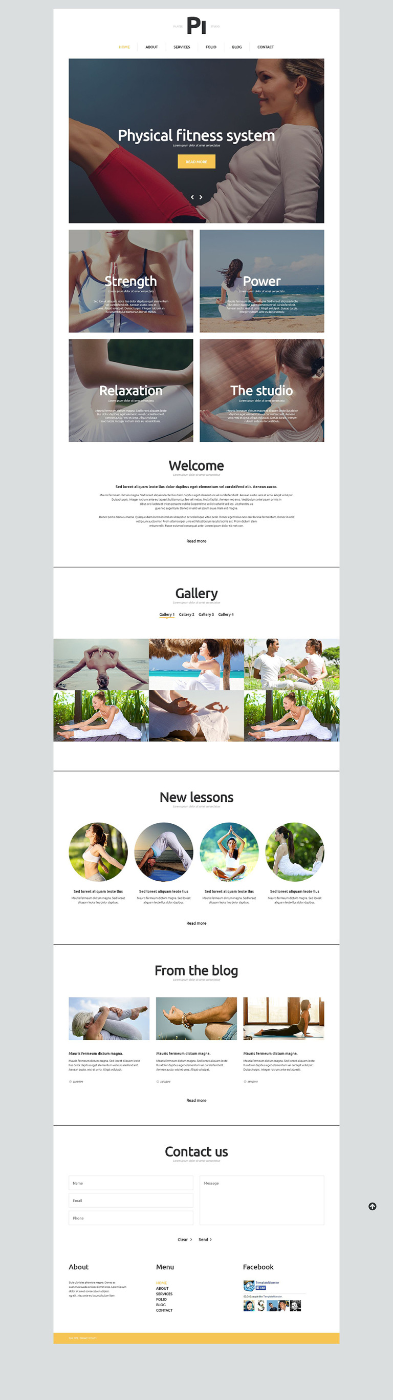 Sport Responsive Joomla Template New Screenshots BIG