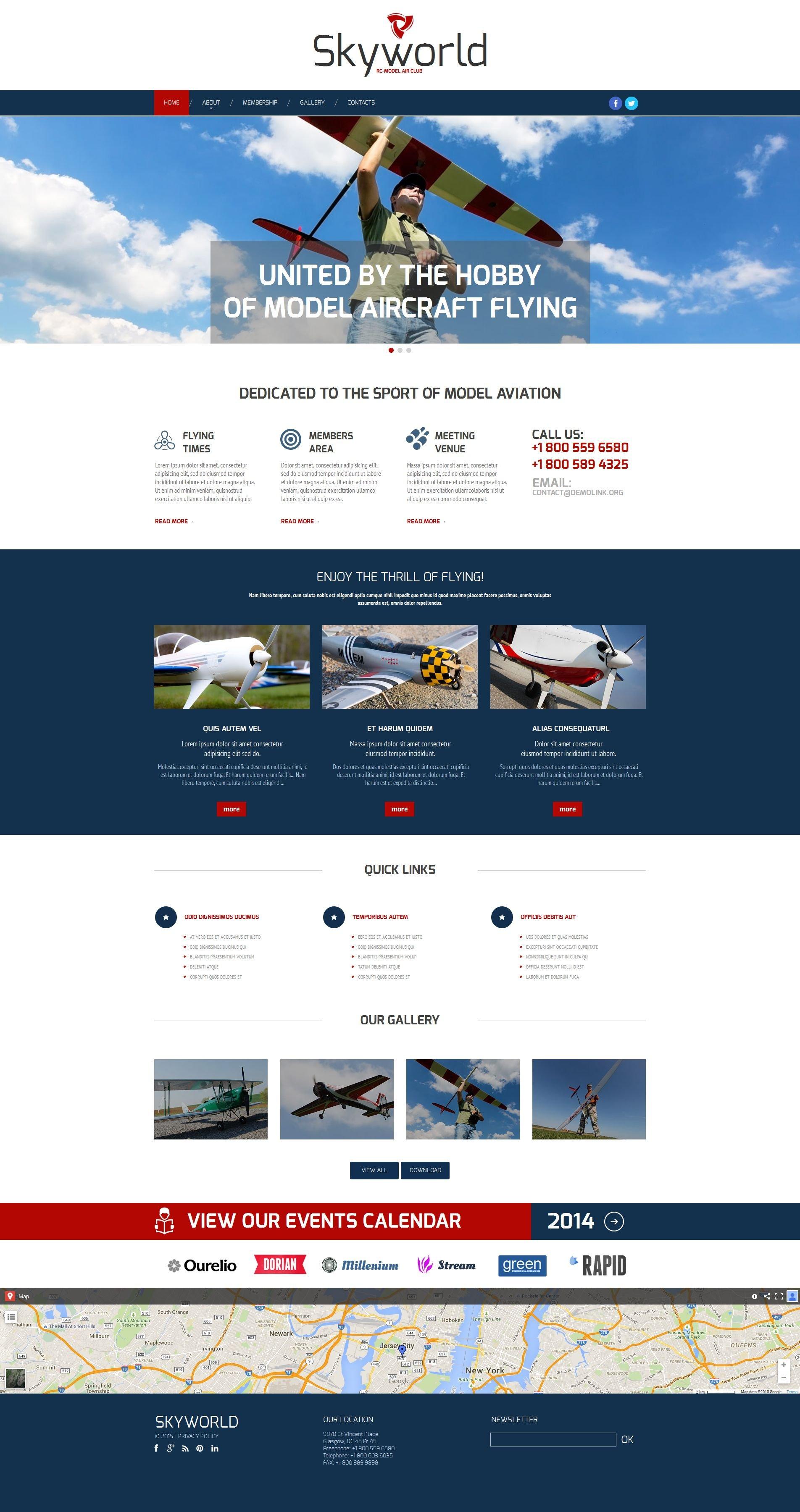 Template Moto CMS HTML para Sites de Loja de Brinquedos №54774