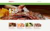 Template Muse para Sites de Cafeteria e Restaurante №54781 New Screenshots BIG