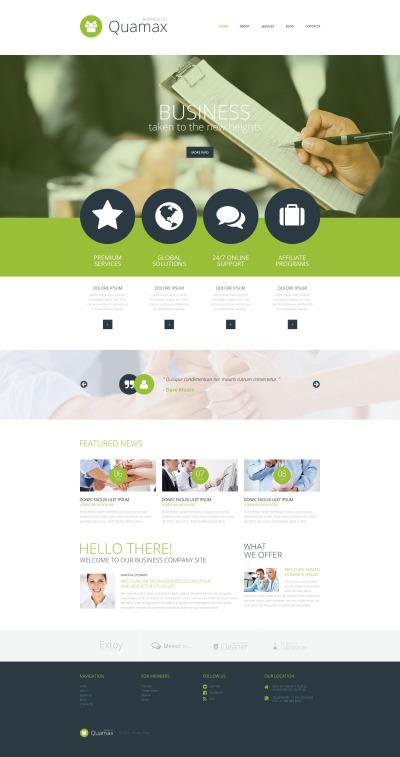 Thème Joomla adaptatif  pour site d'affaires et de services #54741