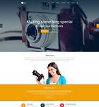 Art & Photography WordPress Template 54800