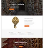 Religious Website  Template 54802