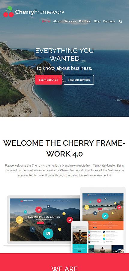 WordPress Theme/Template 54803 Main Page Screenshot