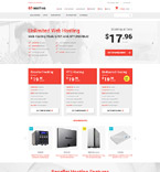 Web Hosting Magento Template 54805