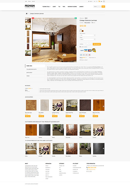 ADOBE Photoshop Template 54806 Home Page Screenshot