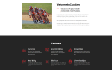 Clubarea - Cycling Multipage Creative HTML Website Template