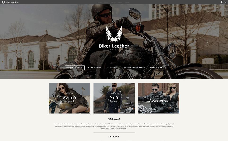Reszponzív Kerékpárboltok Weboldal sablon New Screenshots BIG