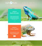 Animals & Pets Website  Template 54811