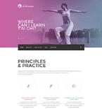 Sport Website  Template 54813